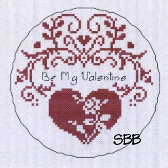 Haberdashery Designs Closeout#84 My Tin Valentine