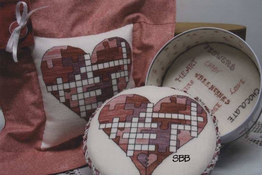 Haberdashery Designs Closeout#87 Puzzling Love