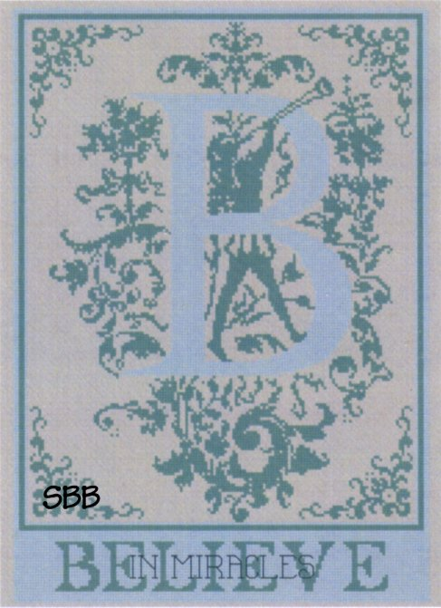 Haberdashery Designs Closeout#46 B - Believe