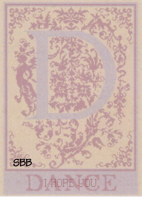Haberdashery Designs Closeout#48 D - Dance