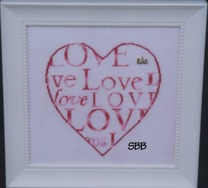 Haberdashery Designs Closeout#21 Heart Full of Love