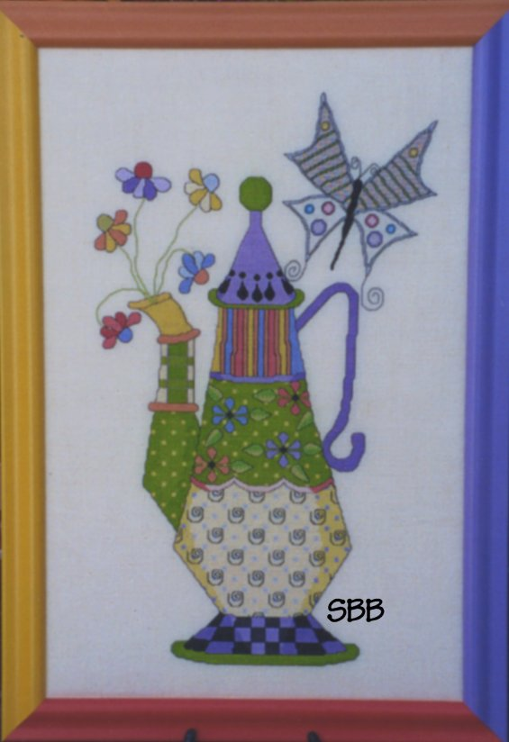 Haberdashery Designs Closeout#9 Jest a Tea Party
