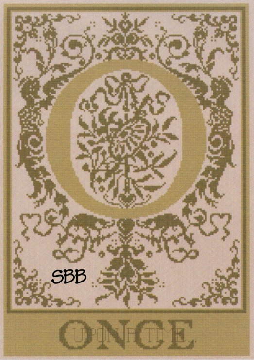 Haberdashery Designs Closeout#59 O - Once