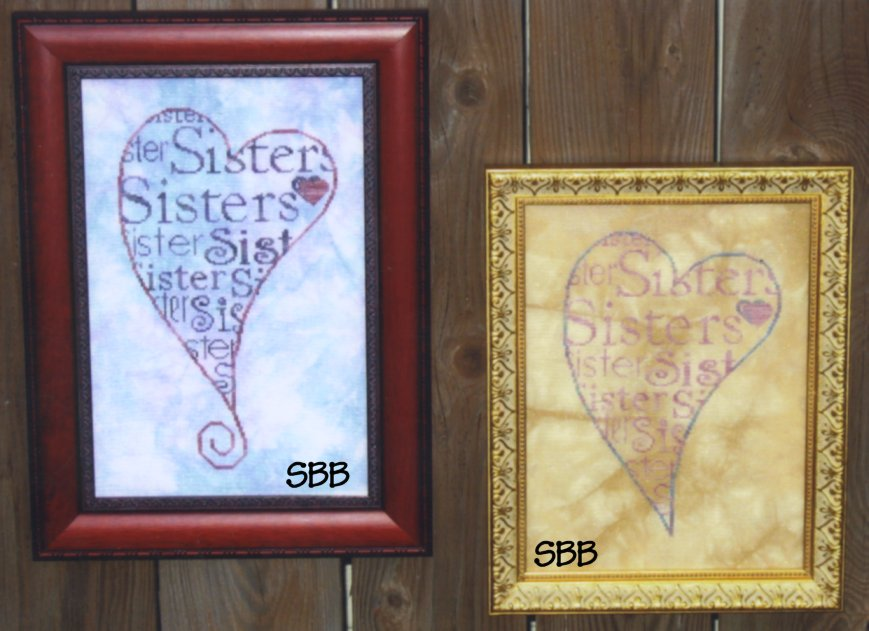 Haberdashery Designs Closeout#29 Sister's Heart
