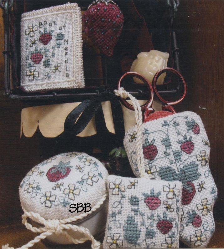 Haberdashery Designs Closeout#74 Strawberry Kisses