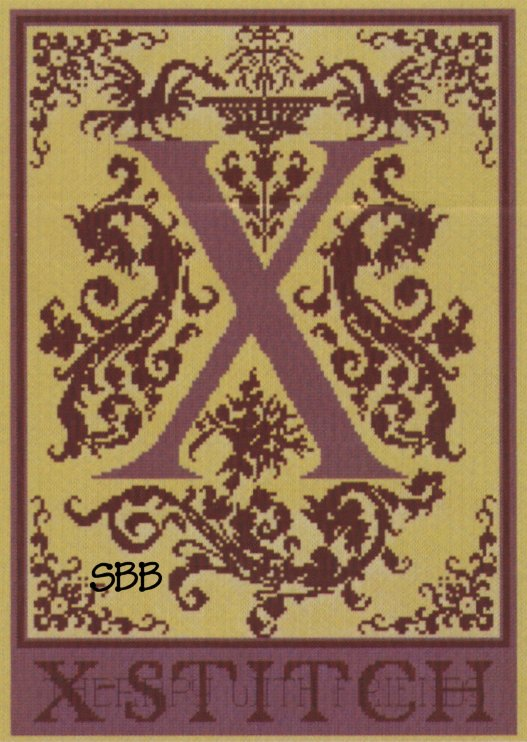 Haberdashery Designs Closeout#68 X - Xstitch