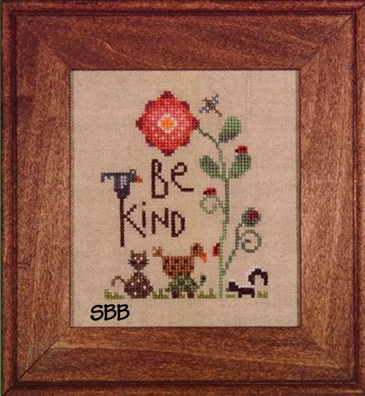 Heart In Hand Needleart Be Kind