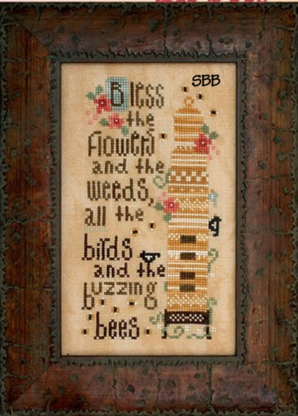 Heart In Hand Needleart Birds And The Bees (w/embellishments)