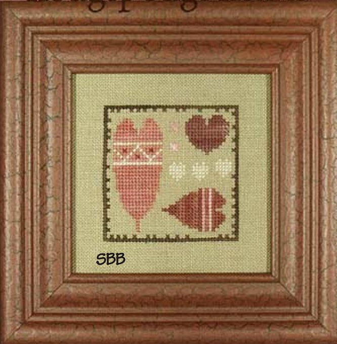 Heart In Hand Needleart Bits N Pieces ~ Hodgepodge Hearts