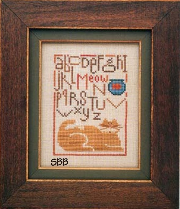 Heart In Hand Needleart Cat Sampler