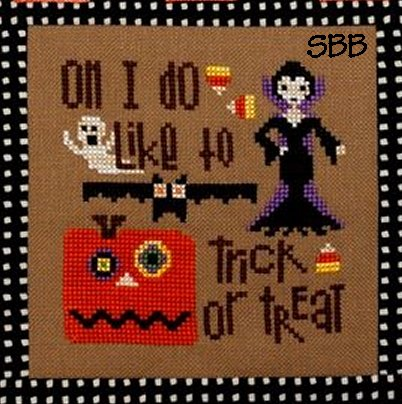 Heart In Hand Needleart Fancy ~ Trick Or Treat