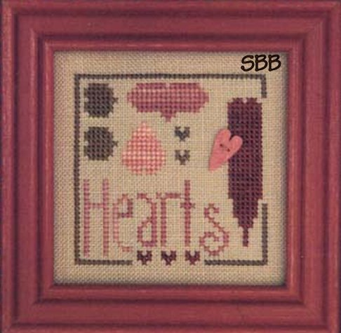 Heart In Hand Needleart Favorite Hearts