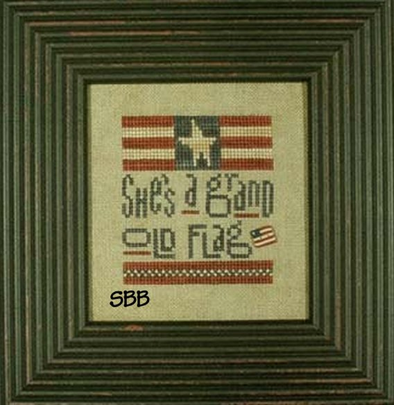 Heart In Hand Needleart Grand Old Flag