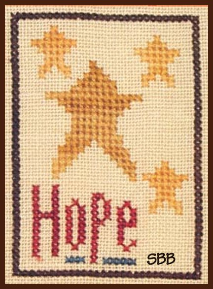 Heart In Hand Needleart Inspiration ~ Hope