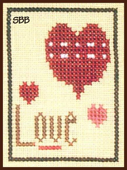 Heart In Hand Needleart Inspiration ~ Love
