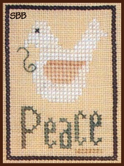 Heart In Hand Needleart Inspiration ~ Peace