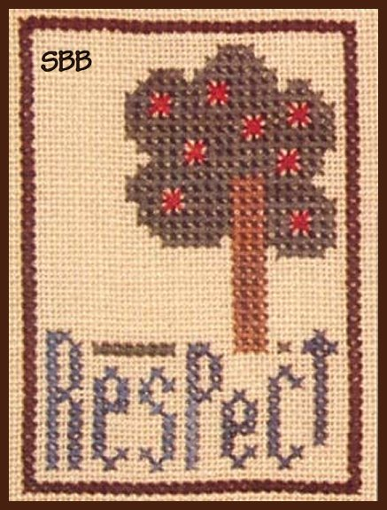 Heart In Hand Needleart Inspiration ~ Respect