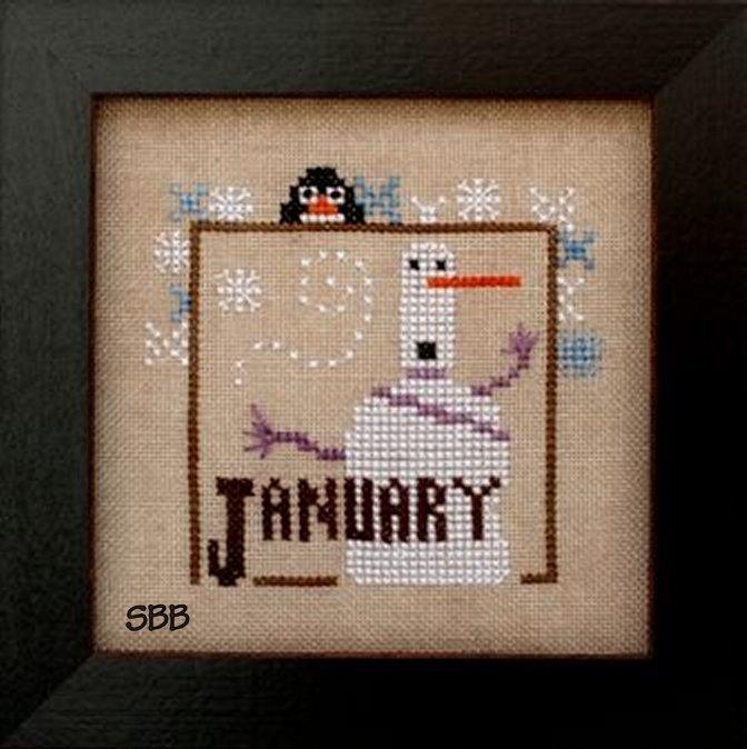 Heart In Hand Needleart Joyful Journal ~ January