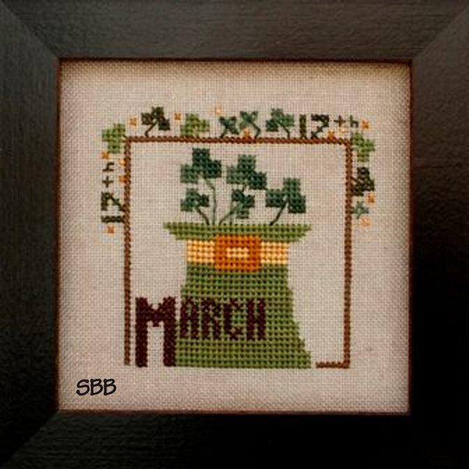 Heart In Hand Needleart Joyful Journal ~ March