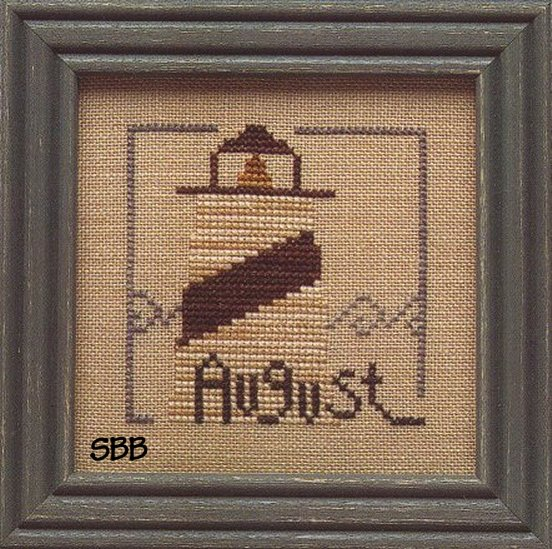Heart In Hand Needleart Monthly Mania ~ August