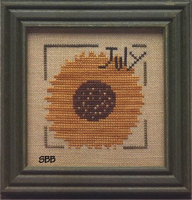 Heart In Hand Needleart Monthly Mania ~ July
