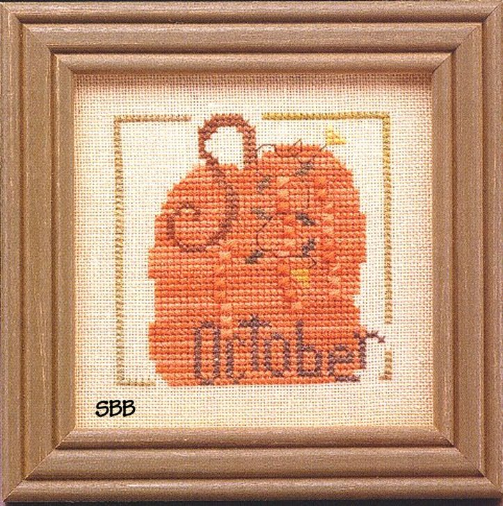 Heart In Hand Needleart Monthly Mania ~ October