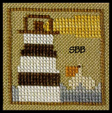 Heart In Hand Needleart Monthly Markings ~ August