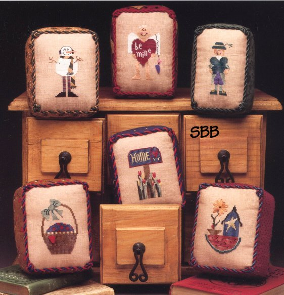 Heart In Hand Needleart Monthly Miniatures I