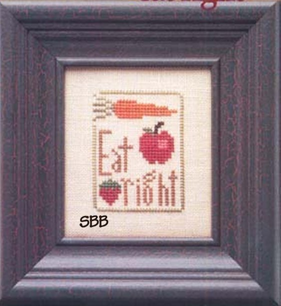 Heart In Hand Needleart Mother's Wisdom ~ Eat Right