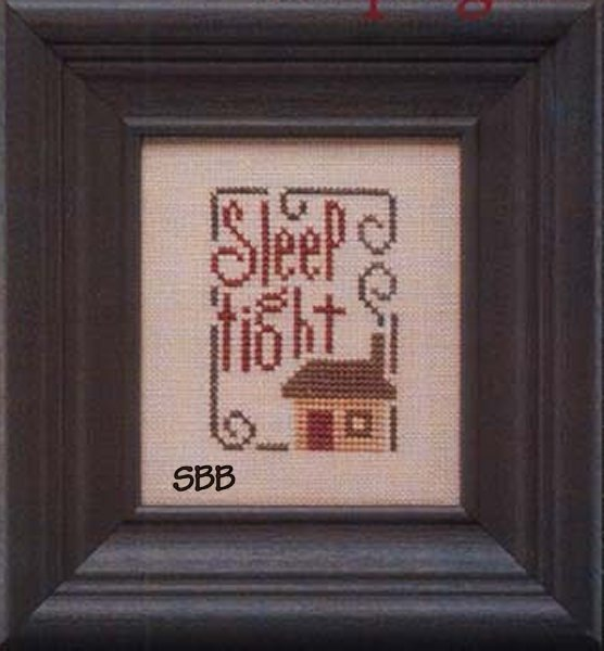 Heart In Hand Needleart Mother's Wisdom ~ Sleep Tight