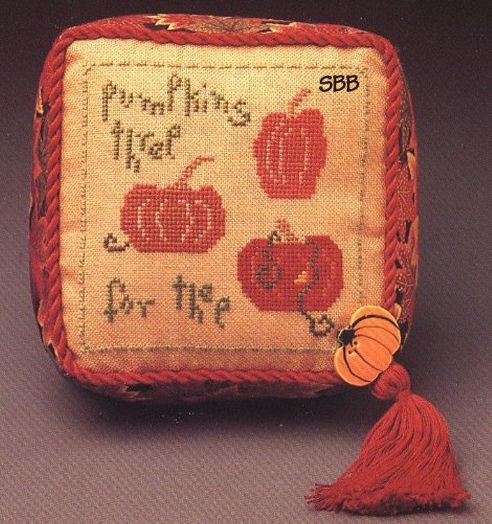 Heart In Hand Needleart Wee One ~ Pumpkins Three