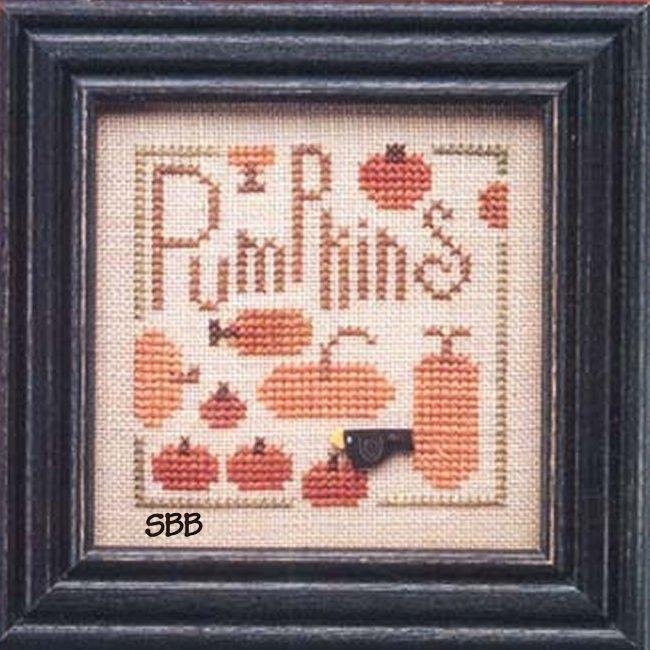 Heart In Hand Needleart Wee One ~ Pumpkins