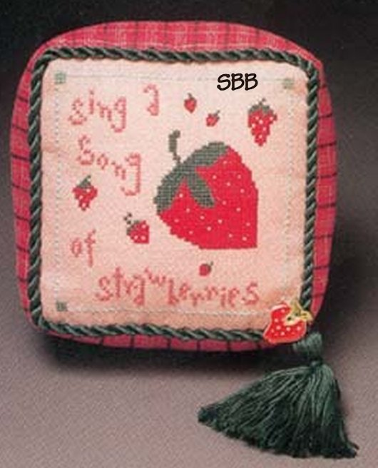 Heart In Hand Needleart Wee One ~ Strawberry Song