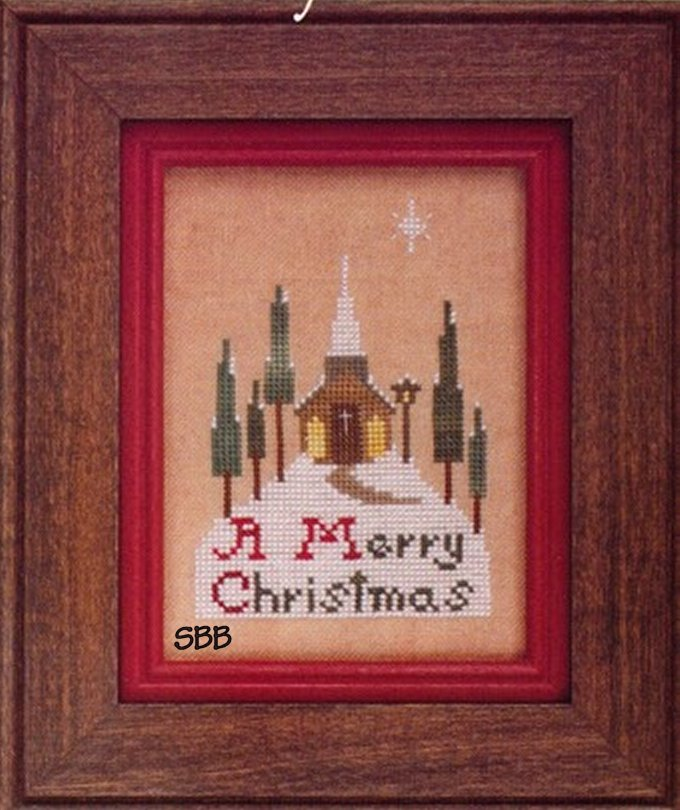Heart In Hand Needleart Vintage Greetings ~ A Merry Christmas
