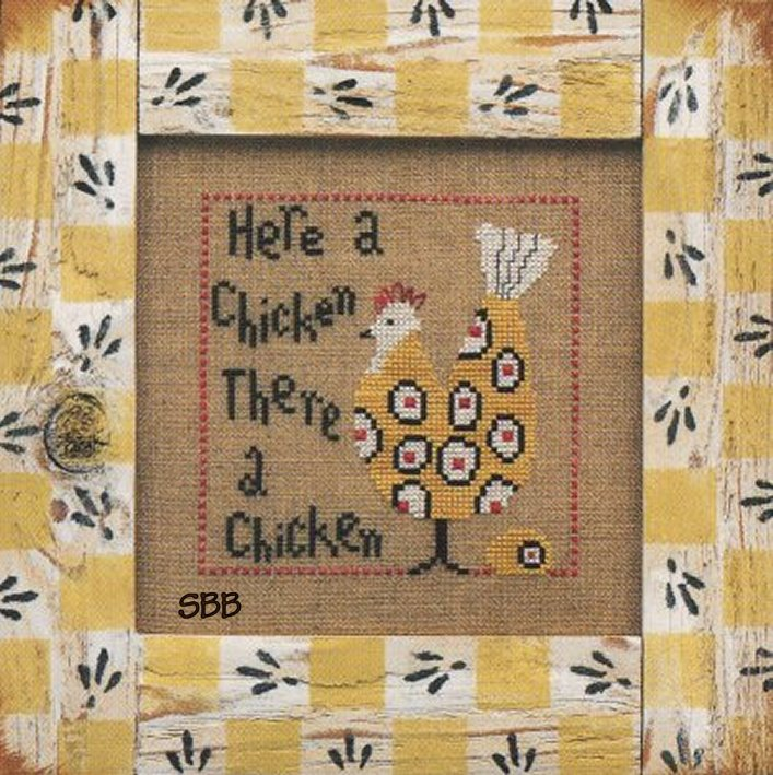 Heart In Hand Needleart Wee One ~ Chicken