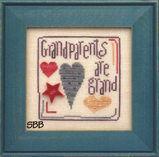 Heart In Hand Needleart Wee One ~ Grandparents