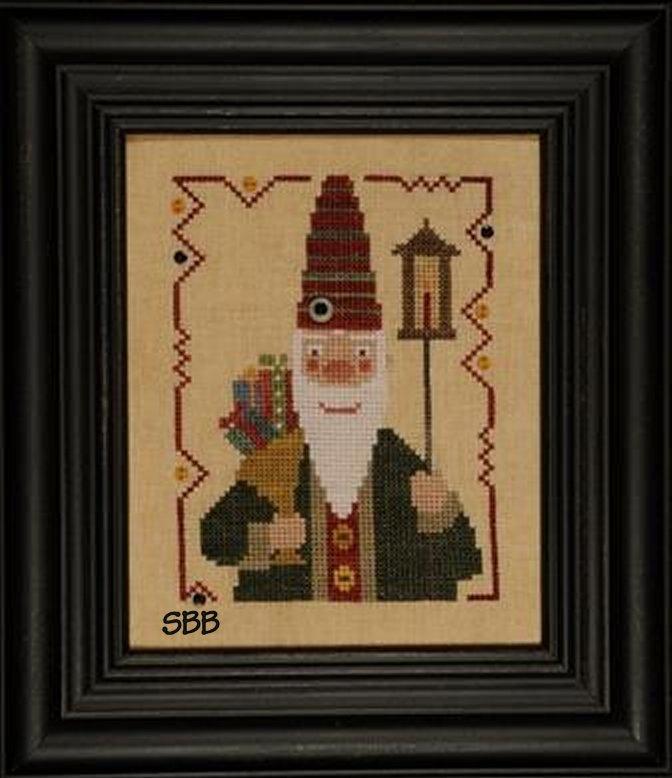 Heart In Hand Needleart Wee One ~ Santa 2011