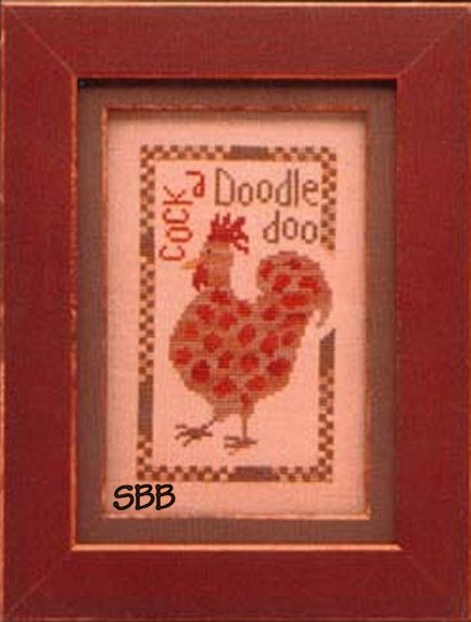 Heart In Hand Needleart Wee One ~ Rooster