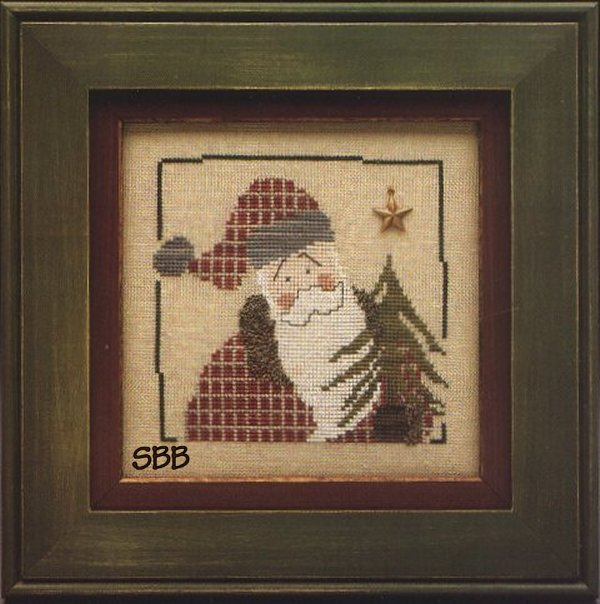 Heart In Hand Needleart Wee One ~ Santa 1999