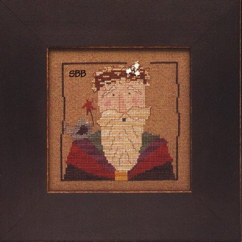 Heart In Hand Needleart Wee One ~ Santa 2000