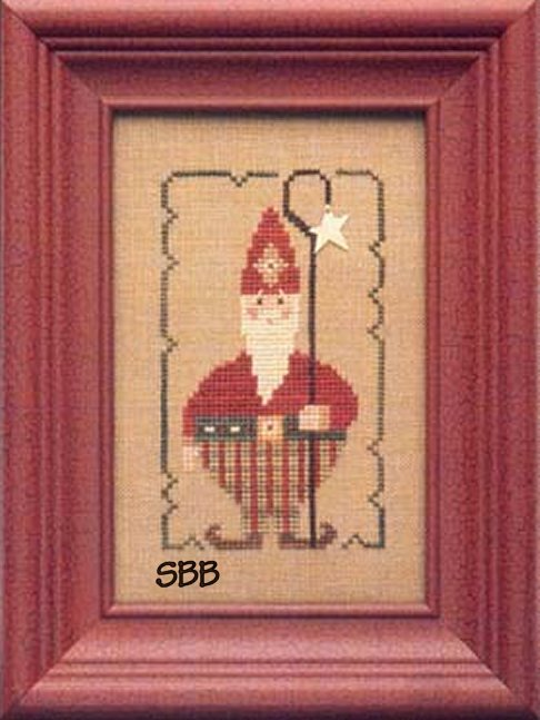 Heart In Hand Needleart Wee One ~ Santa 2005