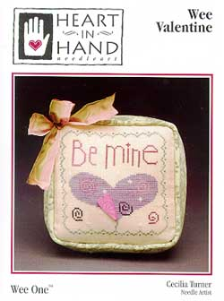 Heart In Hand Needleart Wee One ~ Valentine