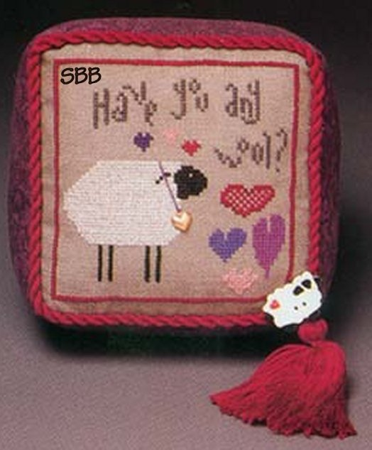 Heart In Hand Needleart Wee One ~ Wooly