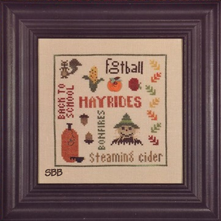 Heart In Hand Needleart What Makes It Autumn