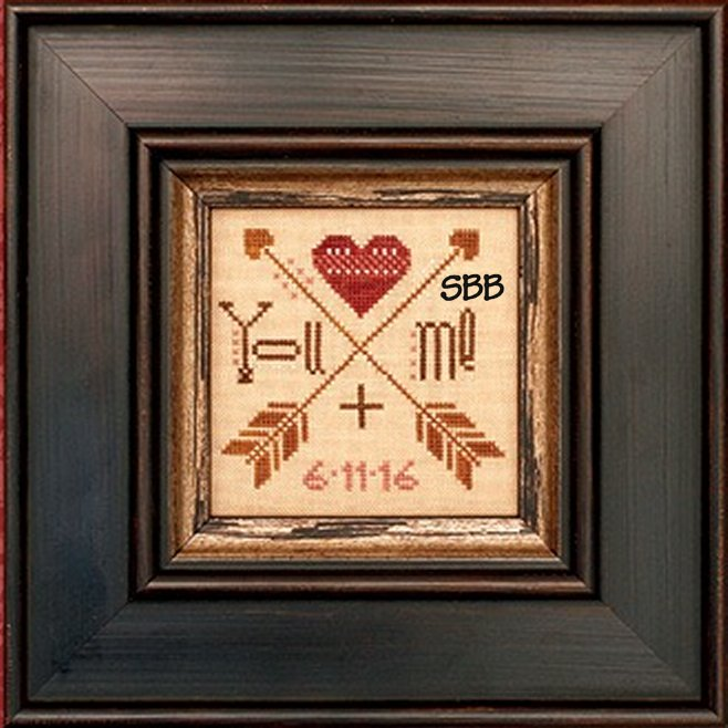 Heart In Hand Needleart You + Me