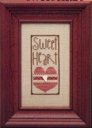 Heart In Hand Needleart Sweet Heart Kit