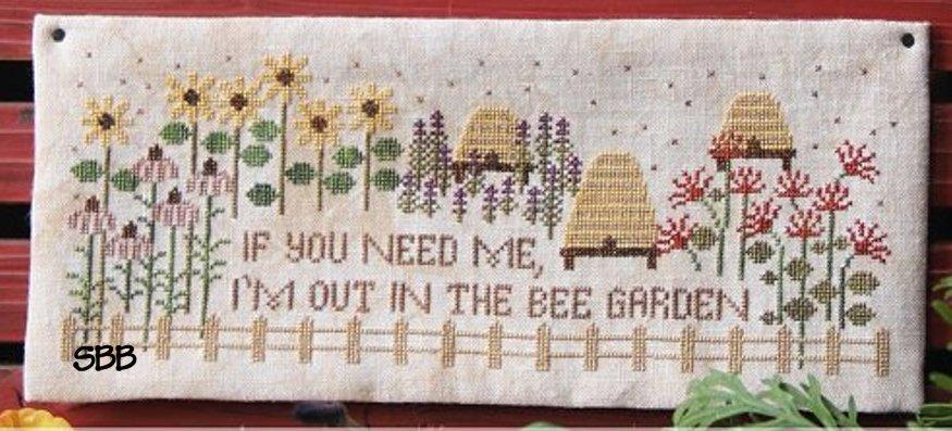 Heartstring Samplery Bee Garden
