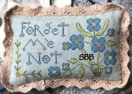 Heartstring Samplery Forget Me Not