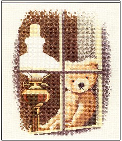 Heritage Crafts HC0149 John Clayton ~ Thread Bears ~ Willian In the Window