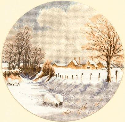 Heritage Crafts HC0267 John Clayton ~ Circles ~ Winter Sheep